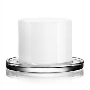 Orrefors White Karl Lagerfeld 2 Set Tumbler Glass